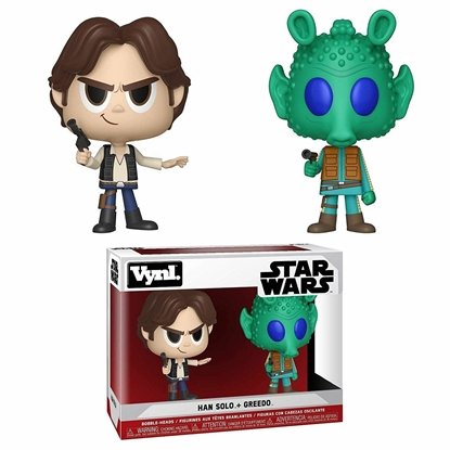 Picture of FUNKO VYNL STAR WARS HAN SOLO + GREEDO 2PK NEW FIGURES