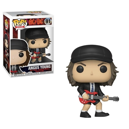 Picture of FUNKO POP ROCKS AC/DC ANGUS YOUNG #91 NEW VINYL FIGURES
