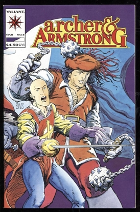 Picture of ARCHER AND ARMSTRONG (1992) #8 9.2 NM-
