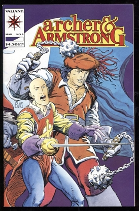 Picture of ARCHER AND ARMSTRONG (1992) #8 9.4 NM