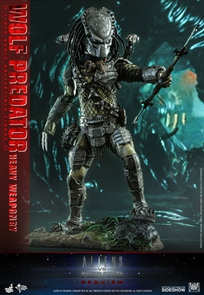 Picture of Wolf Predator Heavy Weaponry hot toys