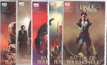 Picture of STEPHEN KING DARK TOWER BATTLE OF JERICHO HILL #1-5 SET  VF/NM