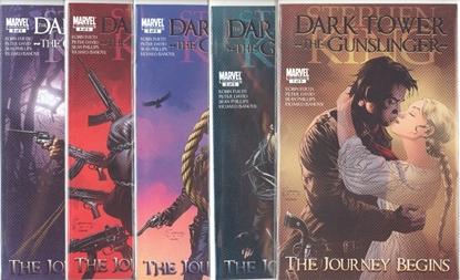 Picture of STEPHEN KING DARK TOWER GUNSLINGER JOURNEY BEGINS #1-5 SET  VF/NM