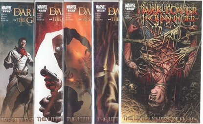Picture of DARK TOWER GUNSLINGER LITTLE SISTERS OF ELURIA #1-5 SET  VF/NM