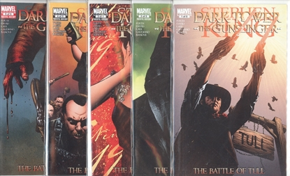 Picture of STEPHEN KING DARK TOWER GUNSLINGER BATTLE OF TULL #1-5 SET  VF/NM