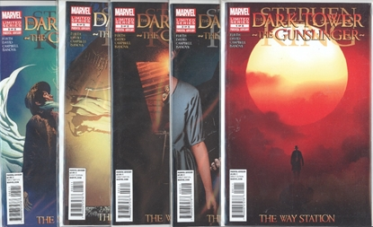 Picture of STEPHEN KING DARK TOWER GUNSLINGER WAY STATION #1-5 SET  VF/NM