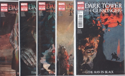 Picture of STEPHEN KING DARK TOWER GUNSLINGER MAN IN BLACK #1-5 SET  VF/NM
