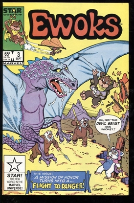 Picture of EWOKS (1985) #3 9.4 NM