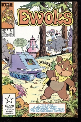 Picture of EWOKS (1985) #5 9.2 NM-