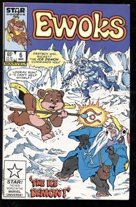Picture of EWOKS (1985) #6 9.2 NM-