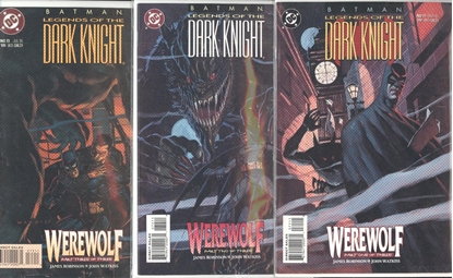 Picture of BATMAN LEGENDS OF THE DARK KNIGHT #71-73 SET