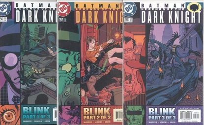 Picture of BATMAN LEGENDS OF THE DARK KNIGHT #156-158