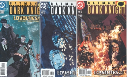 Picture of BATMAN LEGENDS OF THE DARK KNIGHT #159-161 SET