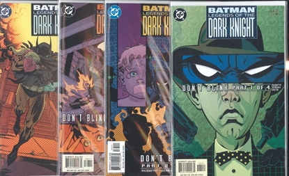 Picture of BATMAN LEGENDS OF THE DARK KNIGHT #164-167 SET