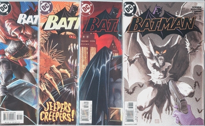 Picture of BATMAN #626-629 1ST PRINT SET