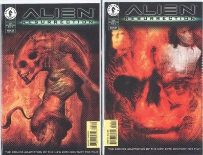 Picture of ALIENS RESURRECTION (1997) #1 2 1ST PRINT SET DARK HORSE  VF/NM