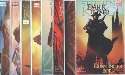 Picture of STEPHEN KING DARK TOWER GUNSLINGER BORN #1-7 SET  VF/NM