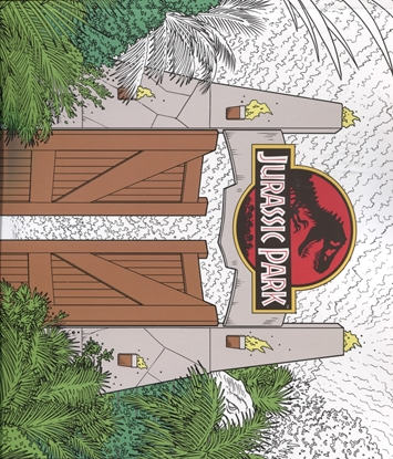 Picture of JURASSIC PARK ADULT COLORING BOOK TP