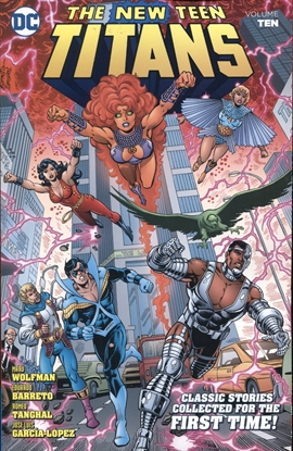 Picture of NEW TEEN TITANS TP VOL 10