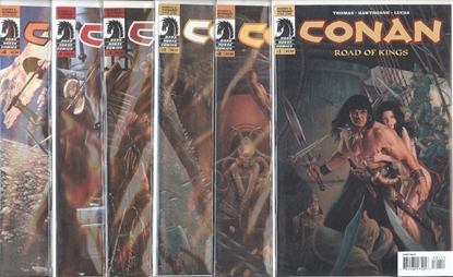 Picture of CONAN ROAD OF KINGS (2010) 1-12 SET VF+