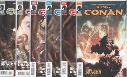 Picture of KING CONAN HOUR OF THE DRAGON (2013) #1-6 SET VF