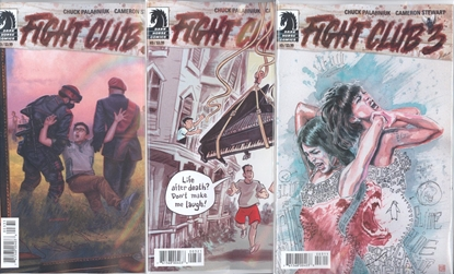 Picture of FIGHT CLUB 3 #3 CVR A B C SET NM