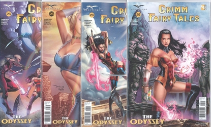Picture of GRIMM FAIRY TALES #26 CVR A B C D 4 COVER SET NM