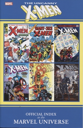 Picture of UNCANNY X-MEN OFF INDEX MARVEL UNIVERSE GN TP