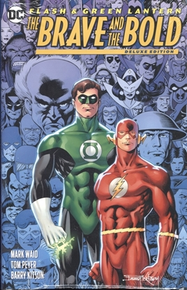 Picture of FLASH GREEN LANTERN BRAVE & THE BOLD DLX ED HC