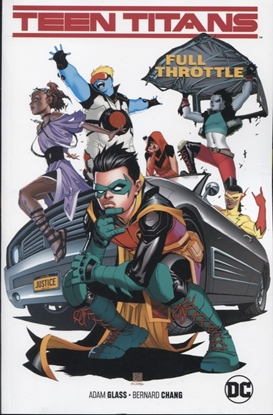 Picture of TEEN TITANS TP VOL 01 FULL THROTTLE