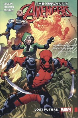 Picture of UNCANNY AVENGERS LOST FUTURE TPB