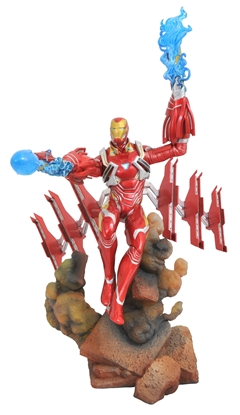 Picture of MARVEL GALLERY AVENGERS 3 IRON MAN MK50 PVC FIGURE (C: 1-1-2