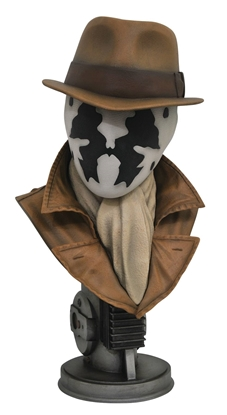 Picture of LEGENDARY FILM WATCHMEN RORSCHACH 1/2 SCALE BUST (C: 1-1-2)