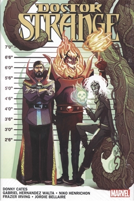 Picture of DOCTOR STRANGE BY DONNY CATES HC