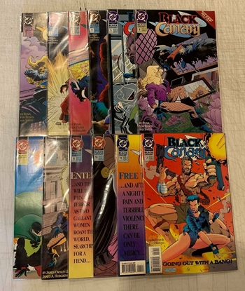 Picture of BLACK CANARY (1993) #1-12 SET VF/NM