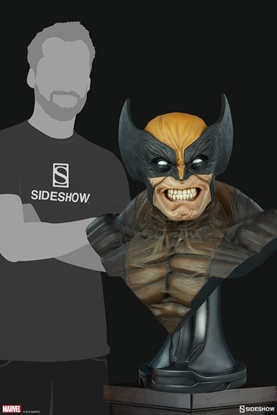 Picture of WOLVERINE LIFE-SIZE HEAD BUST SIDESHOW