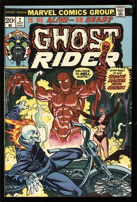 Picture of GHOST RIDER (1973) #2 7.0 FN/VF