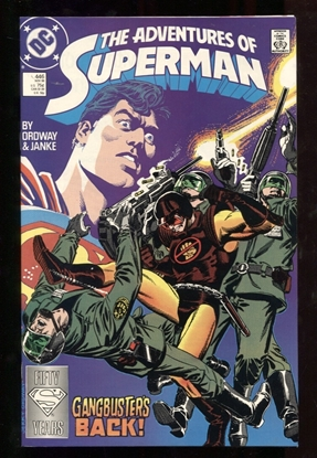 Picture of ADVENTURES OF SUPERMAN (1987) #446 9.6 NM+