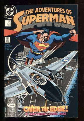 Picture of ADVENTURES OF SUPERMAN (1987) #447 9.6 NM+