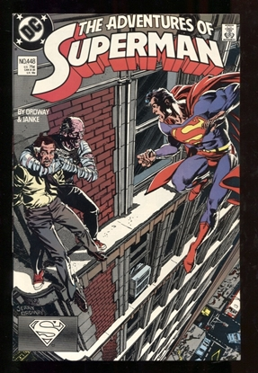 Picture of ADVENTURES OF SUPERMAN (1987) #448 9.4 NM