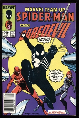 Picture of MARVEL TEAM-UP #141 9.2 NM-