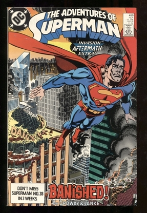 Picture of ADVENTURES OF SUPERMAN (1987) #450 9.6 NM+