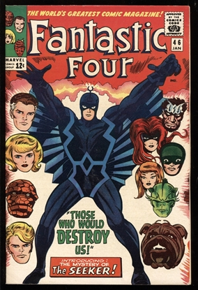 Picture of FANTASTIC FOUR (1961) #46 6.5 FN+