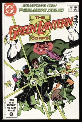 Picture of GREEN LANTERNS (1960) #201 9.4 NM
