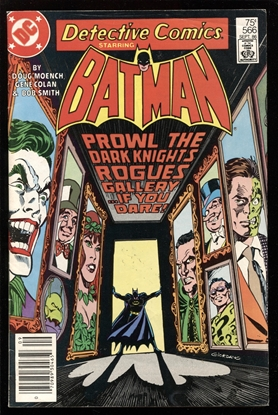 Picture of DETECTIVE COMICS  (1937) #566 6.0 FN