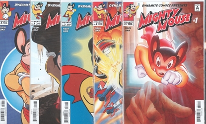 Picture of MIGHTY MOUSE (2017) #1 2 3 4 5 CVR A SET