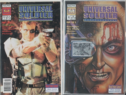 Picture of UNIVERSAL SOLDIER #1 1ST PRINT AND PHOTO COVER VF/NM