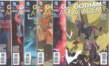 Picture of GOTHAM ACADEMY (2014) #1-6 1ST PRINT SET NM