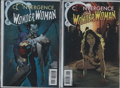 Picture of CONVERGENCE WONDER WOMAN #1 & 2 1ST PRINT SET NM