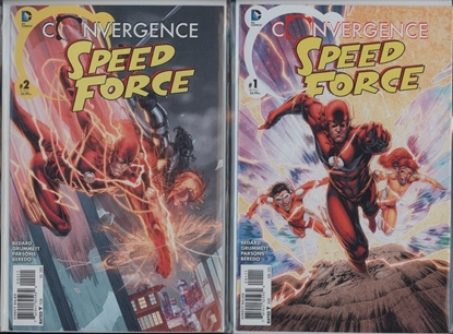 Picture of SPEEDFORCE CONVERGENCE #1 & 2 1ST PRINT SET NM